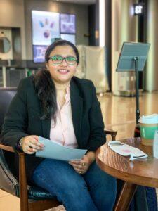 Neues Teammitglied: Sanchari Chowdhury